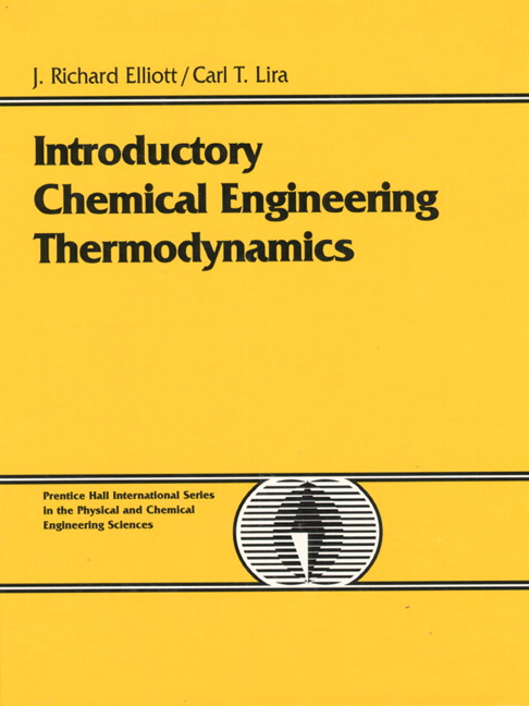 Pearson introductory chemical engineering thermodynamics j view larger cover view a sample chapter introductory chemical engineering thermodynamics fandeluxe Choice Image