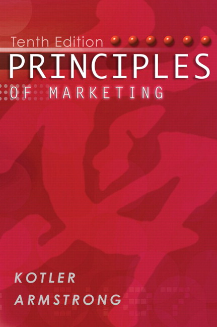 Principles of Marketing Pearson Principles of Marketing With