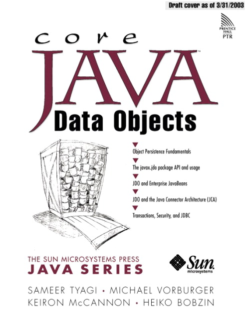 Core Java Data Objects Cover Image