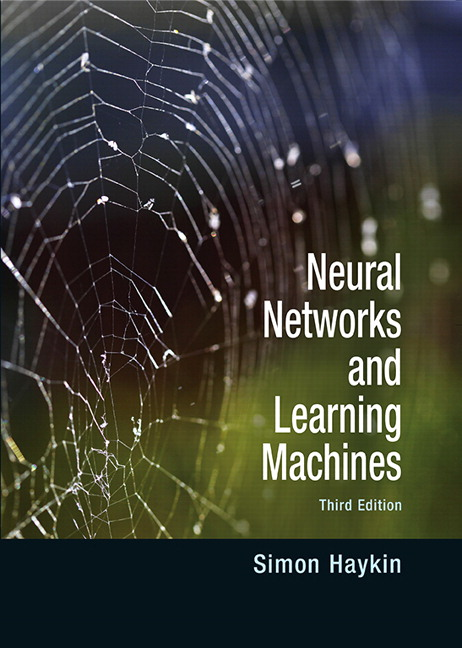 Textbook: Neural Networks and Learning Machines