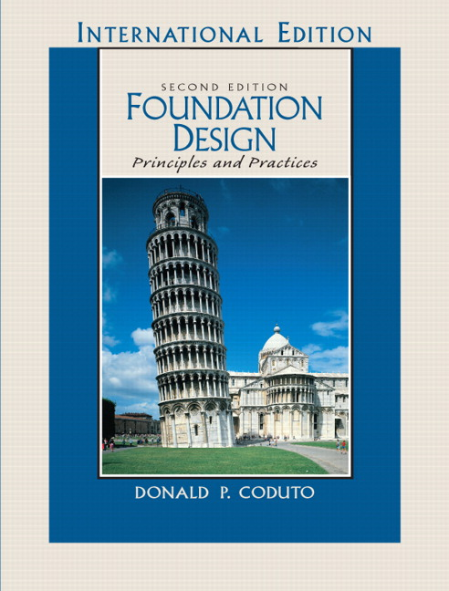pearson foundation design principles and practices international rh catalogue pearsoned co uk Civil Engineering Civil Engineering