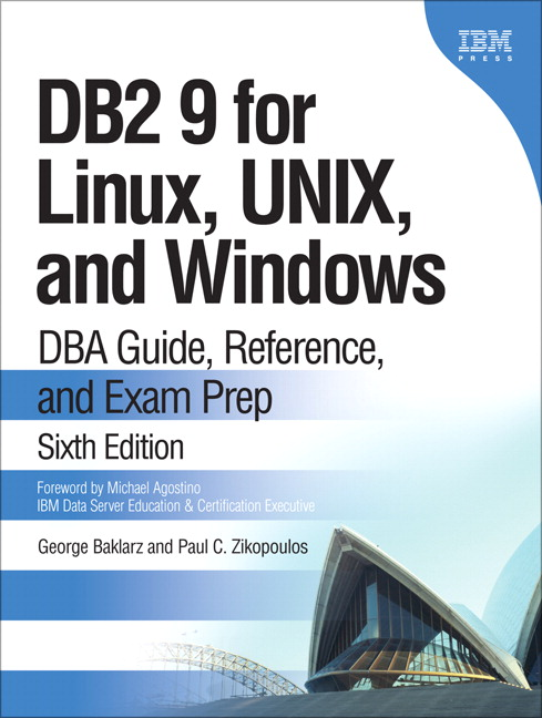 Pearson - DB2 9 for Linux, UNIX, and Windows: DBA Guide, Reference ...