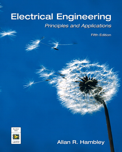 Electrical Engineering Book Pdf: Pearson - Electrical Engineering: Principles and Applications 5/E rh:catalogue.pearsoned.ca,Design