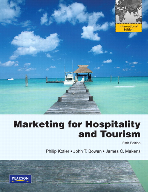 Pearson - Marketing for Hospitality & Tourism: International ...