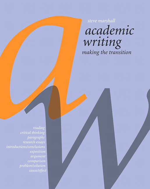 Reed College | Online Writing Lab | Writing Resources for Students
