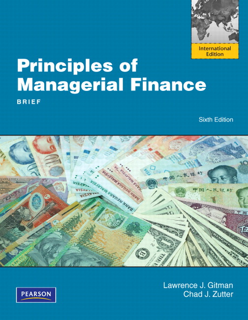 Pearson principles of managerial finance brief international view larger cover principles of managerial finance fandeluxe Image collections