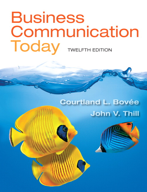 Business Communication Book Business Communication Today