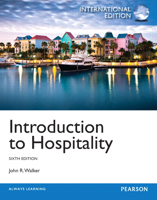 Pearson introduction to hospitality international edition 6e view larger cover introduction to hospitality international edition 6e john r walker fandeluxe Gallery