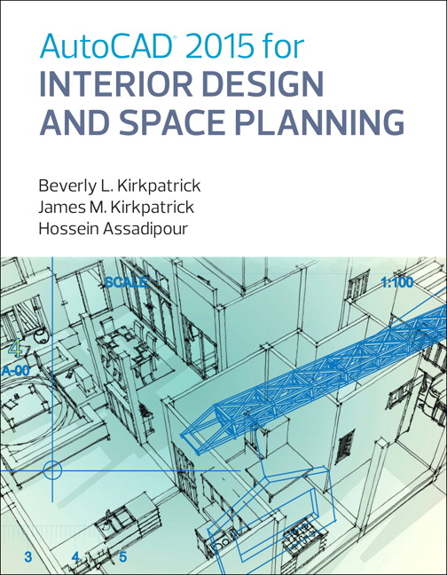 View Larger Cover AutoCAD 2015 For Interior Design