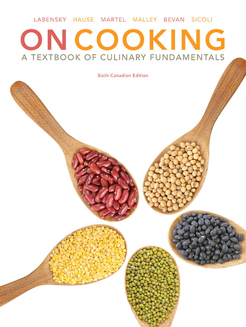 View Larger Cover On Cooking A Textbook