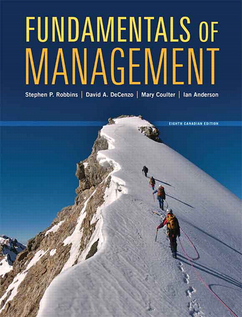 pearson fundamentals of management eighth canadian edition 8 e