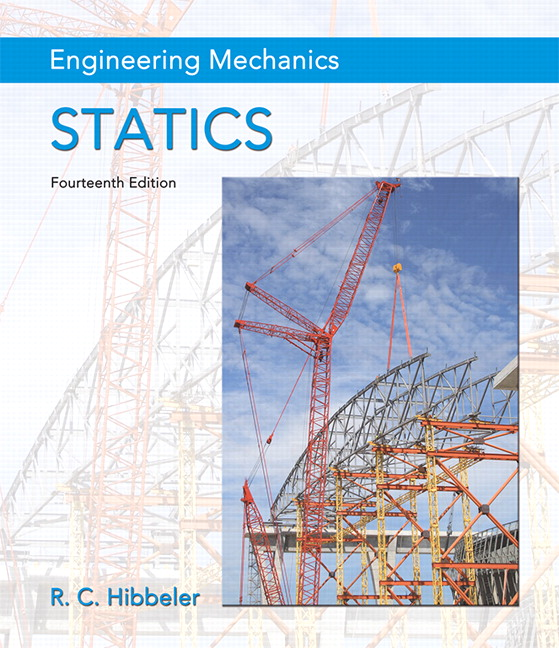 Pearson engineering mechanics statics 14e russell c hibbeler view larger cover fandeluxe Image collections