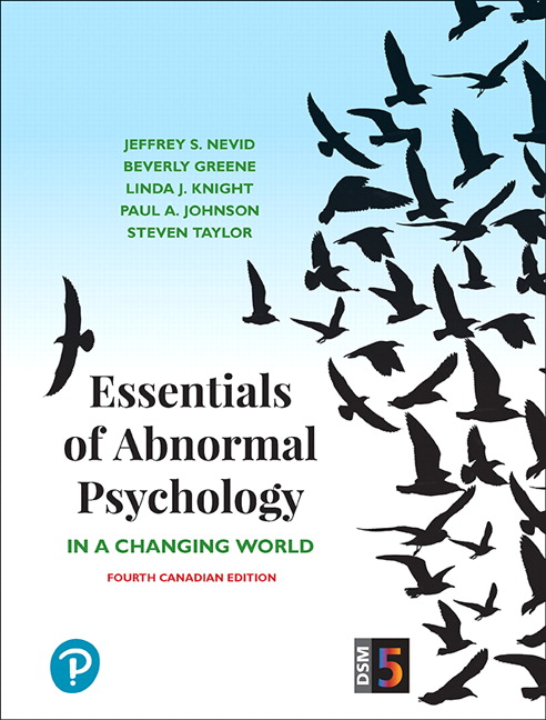 Pearson essentials of abnormal psychology fourth canadian edition view larger cover essentials of abnormal psychology fandeluxe Choice Image