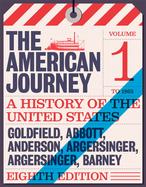 Pearson american journey a history of the united states the view larger cover fandeluxe Gallery
