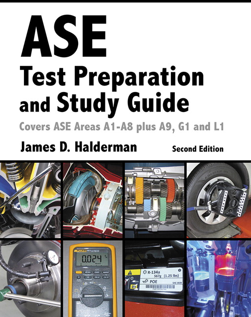 Pearson Ase Test Prep And Study Guide 2e James D Halderman