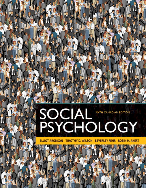 Pearson - REVEL for Social Psychology, Sixth Canadian Edition ...