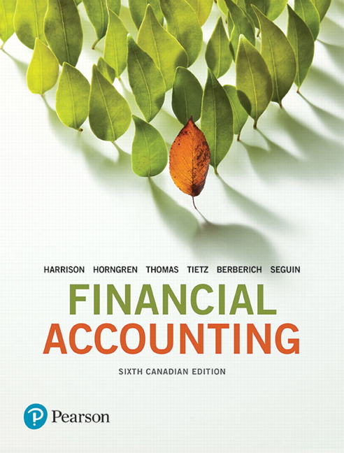 Pearson financial accounting sixth canadian edition plus new view larger cover financial accounting sixth canadian edition fandeluxe Image collections