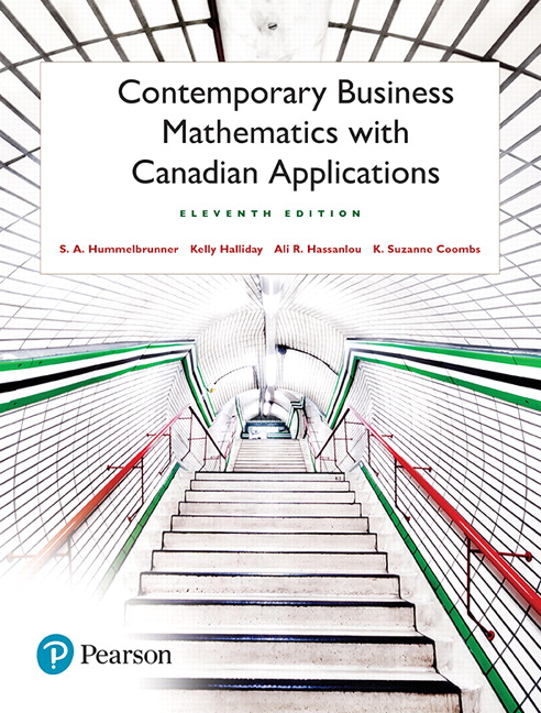 Pearson contemporary business mathematics with canadian view larger cover fandeluxe