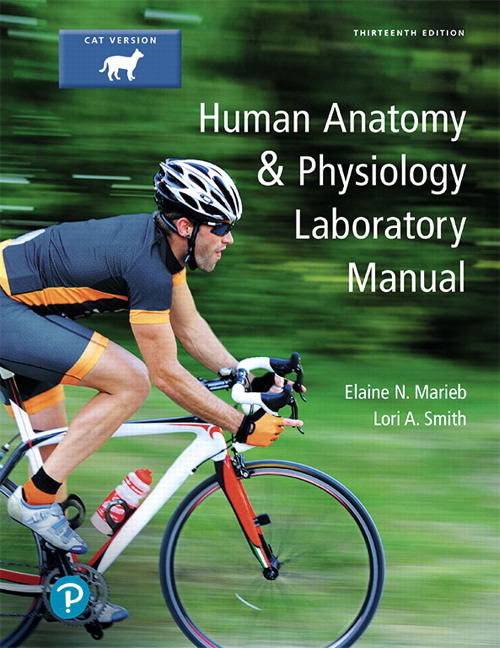Pearson Human Anatomy Physiology Laboratory Manual Cat Version