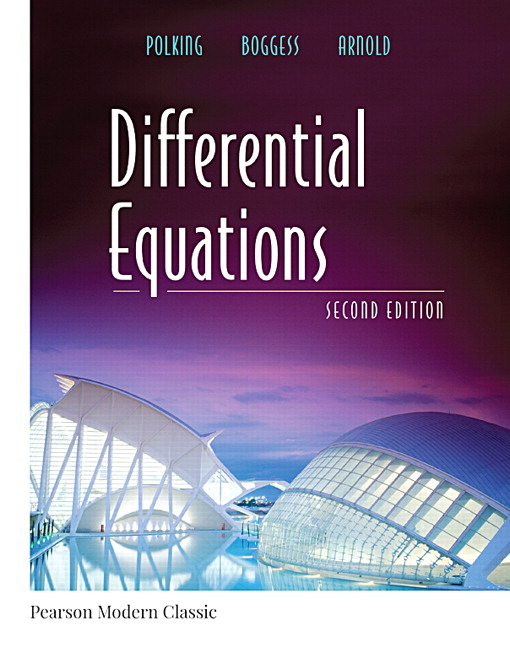 Pearson differential equations classic version 2e john view larger cover differential equations fandeluxe Images
