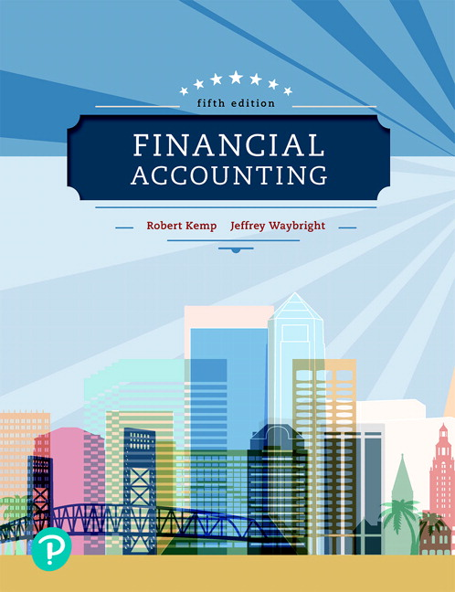 Pearson financial accounting 5e robert kemp jeffrey waybright view larger cover financial accounting fandeluxe Gallery