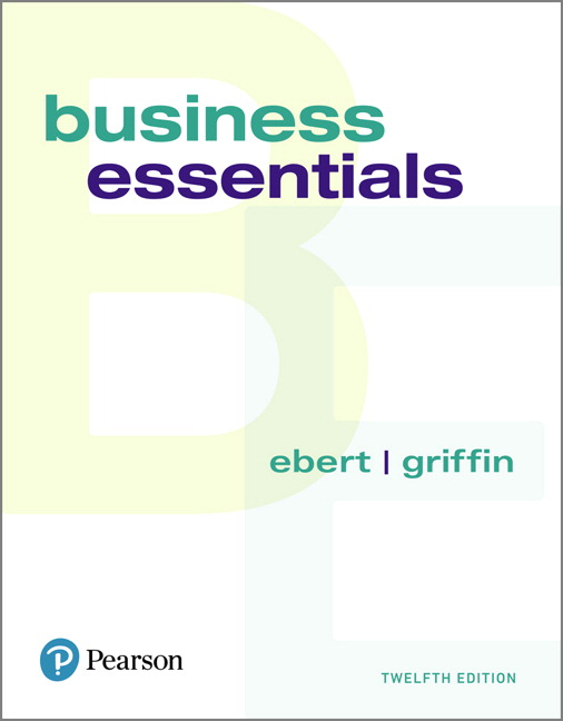 Pearson business essentials 12e ronald j ebert ricky w griffin view larger cover business essentials 12e ronald j ebert fandeluxe Images