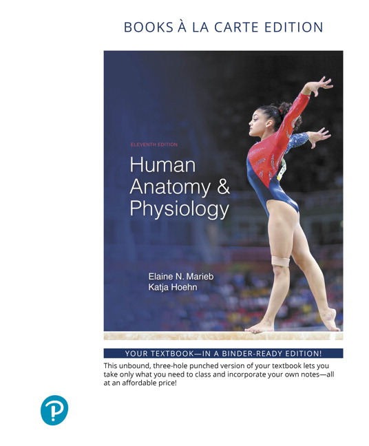 Pearson - Human Anatomy & Physiology, Books a la Carte Edition, 11/E ...