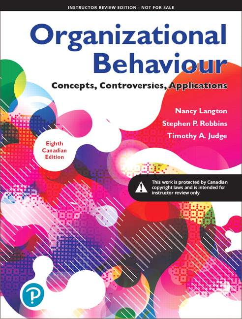 Pearson - Instructor\'s Edition for Organizational Behaviour ...