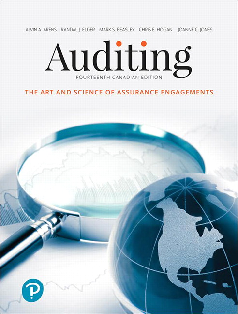 Pearson auditing the art and science of assurance engagements view larger cover fandeluxe Images
