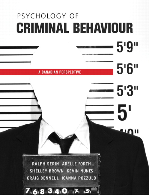 pearson - psychology of criminal behaviour: a canadian perspective, Human Body