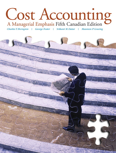 Pearson cost accounting a managerial emphasis fifth canadian view larger cover cost accounting a managerial emphasis fifth canadian edition plus mylab accounting with pearson etext fandeluxe Image collections