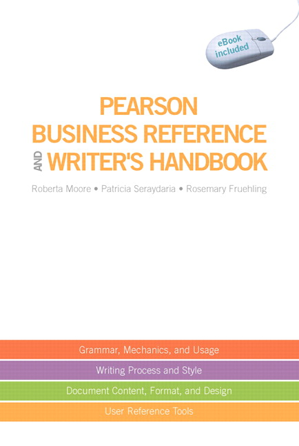 Pearson pearson business reference and writers handbook with view larger cover pearson business fandeluxe Images