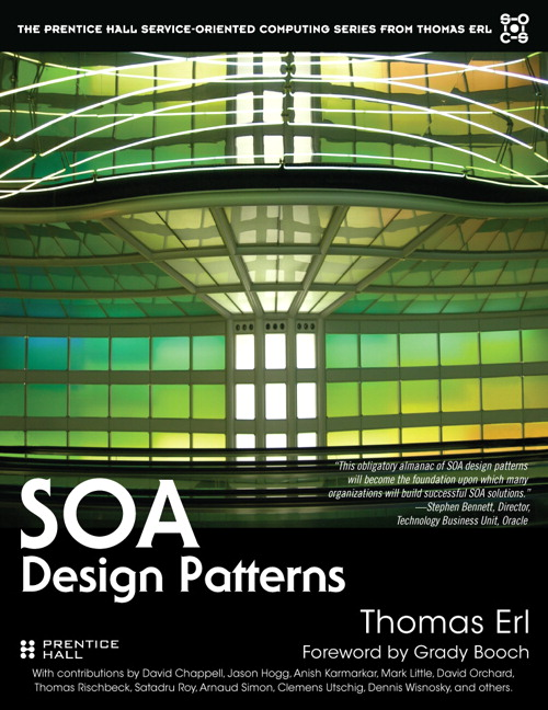 SOA Design Patterns Cover Image