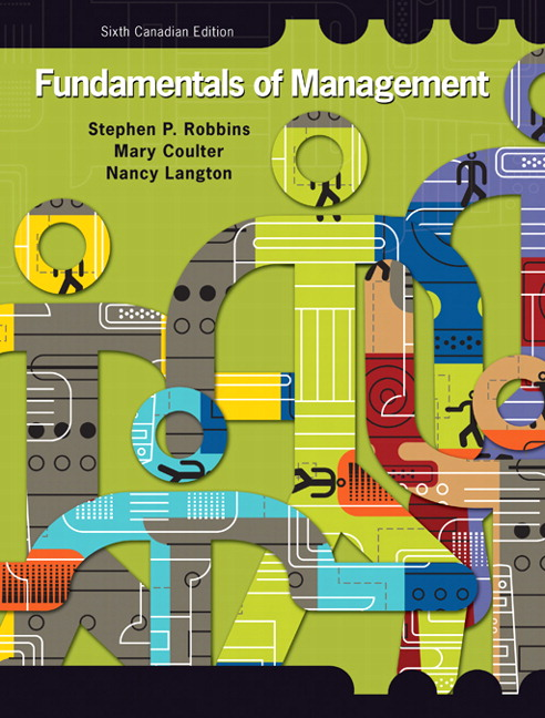 Pearson Fundamentals Of Management Sixth Canadian Edition Plus