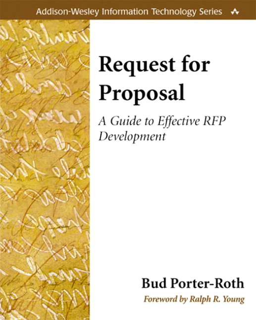 Pearson Request For Proposal A Guide To Effective Rfp Development