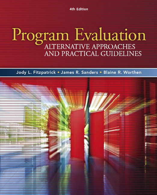 Pearson  Program Evaluation Alternative Approaches And Practical