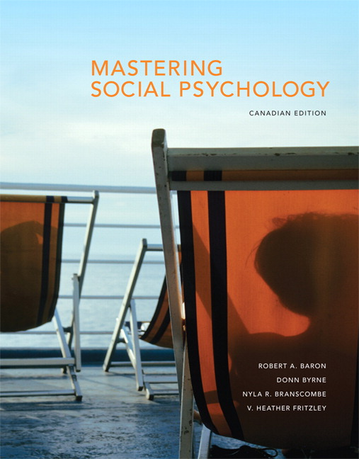 Pearson - Mastering Social Psychology, First Canadian Edition Plus ...
