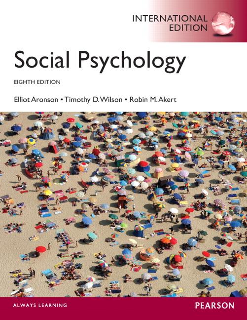 Pearson social psychology international edition 8e elliot view larger cover social psychology international edition fandeluxe Gallery