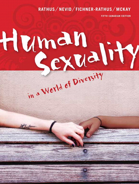 Human sexuality in a world of diversity 5th canadian edition