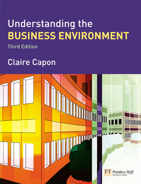 Pearson understanding the business environment 3e claire capon view larger cover fandeluxe Images