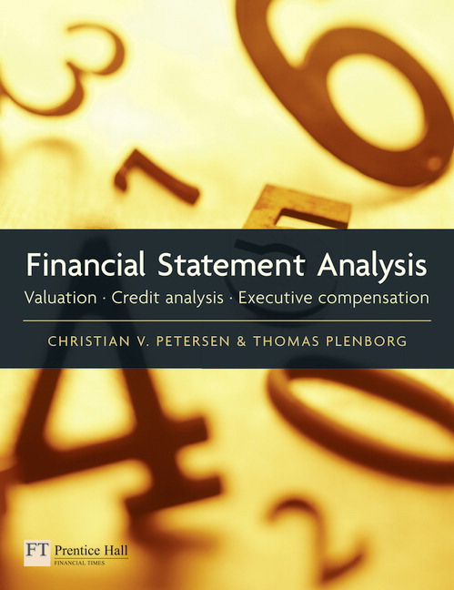 Pearson  Financial Statement Analysis Valuation  Credit Analysis