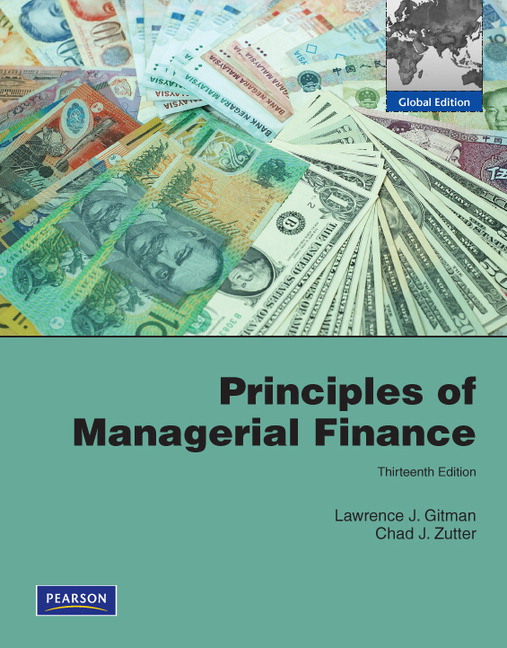 Pearson principles of managerial finance with mylab finance view larger cover principles of managerial finance fandeluxe Image collections