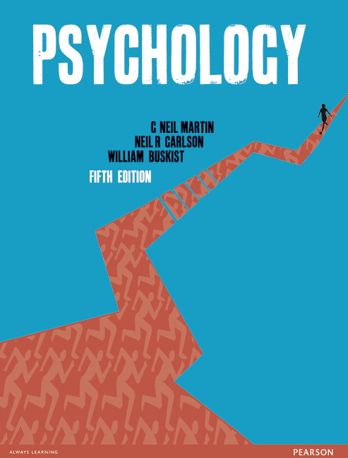 Pearson psychology 5e g neil martin neil r carlson view larger cover psychology fandeluxe Gallery