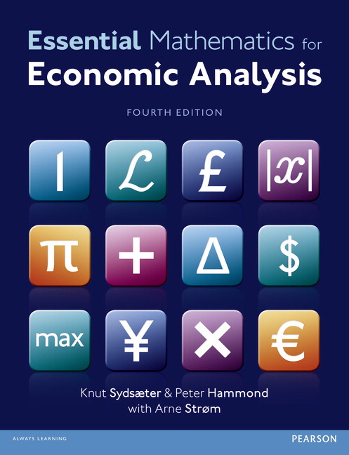 Pearson essential mathematics for economic analysis 4e knut view larger cover essential fandeluxe Image collections