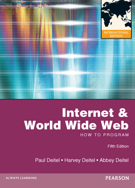 Pearson internet and world wide web how to program view larger cover internet and world wide web how to program international edition fandeluxe Choice Image