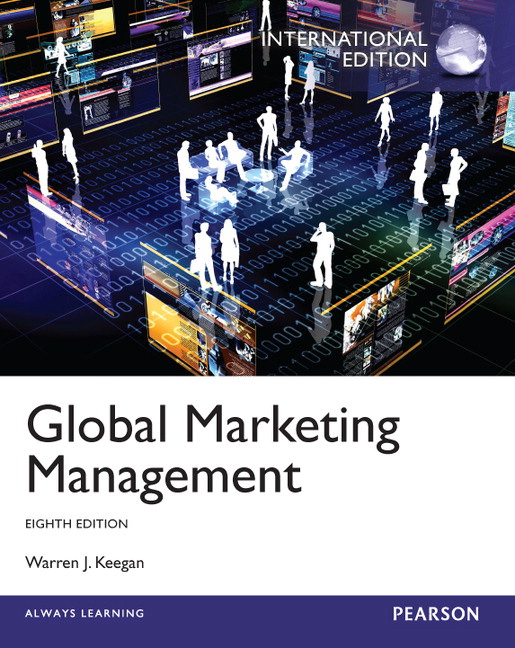 Pearson global marketing management international edition 8e view larger cover global marketing management international edition 8e warren j keegan fandeluxe Gallery