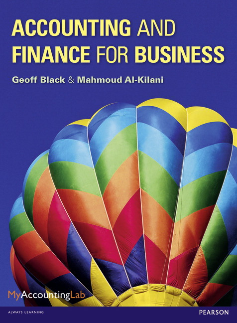 Pearson - Accounting and Finance for Business - Geoff Black ...