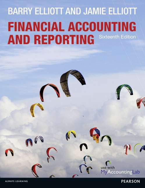 Pearson financial accounting and reporting 16e barry elliott view larger cover financial accounting and reporting fandeluxe Image collections