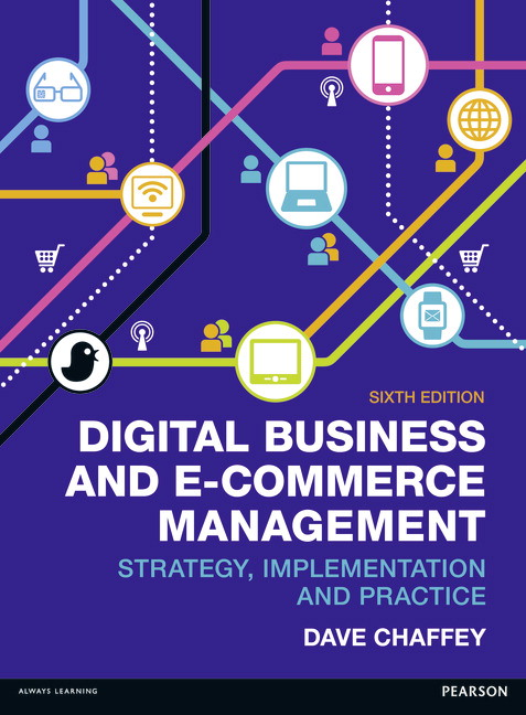 Pearson digital business and e commerce management 6e dave chaffey view larger cover fandeluxe Images