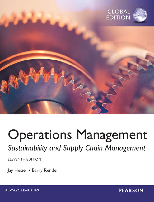 Pearson operations management global edition 11e jay heizer view larger cover operations management fandeluxe Images